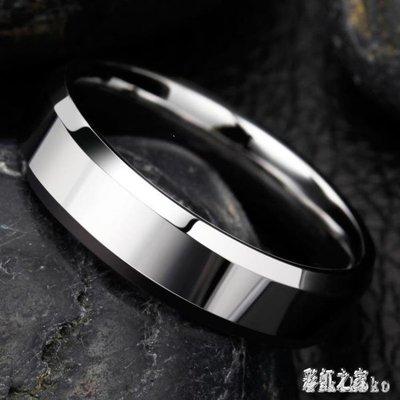 麥麥部落 戒指男潮個性鎢金食指單身戒指男士尾戒日韓學生霸氣飾品MB9D8