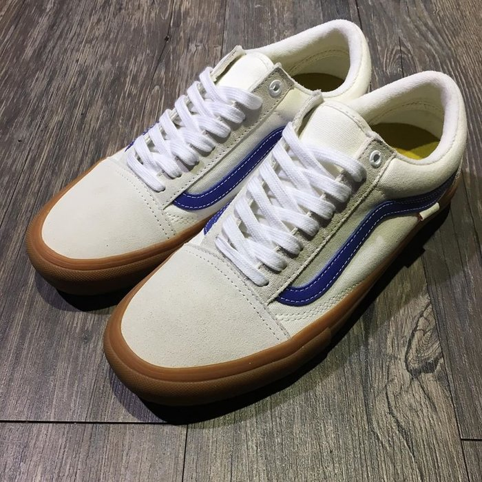 [Spun Shop] Vans Old Skool Pro - Marshma / Blue / Gum 膠底經典款