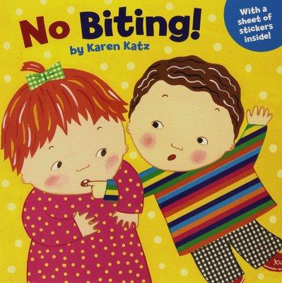 不準咬 英文 No Biting! Karen Katz Grosset & Dunlap