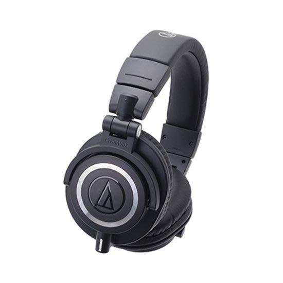 【金聲樂器】Audio Technica 鐵三角 ATH-M50xBT 無線 耳罩式耳機 專業 錄音室用 監聽耳機