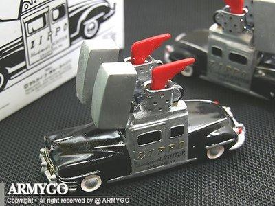 【ARMYGO】ZIPPO原廠打火機-展示收藏車紀念品