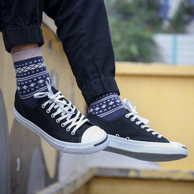 【Dr.Shoes 】Converse Jack Purcell Low 男女鞋 開口笑 帆布 休閒鞋 1Q699 桃園市