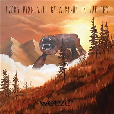 "((CD))  Weezer  ""Everything Will Be Alright In The End"""
