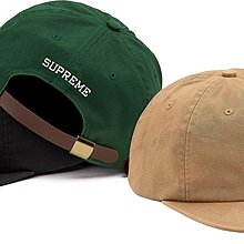 玉米潮流本舖 Supreme Chino Twill Gel S Logo 6-Panel 六分割帽 FW19WEEK8
