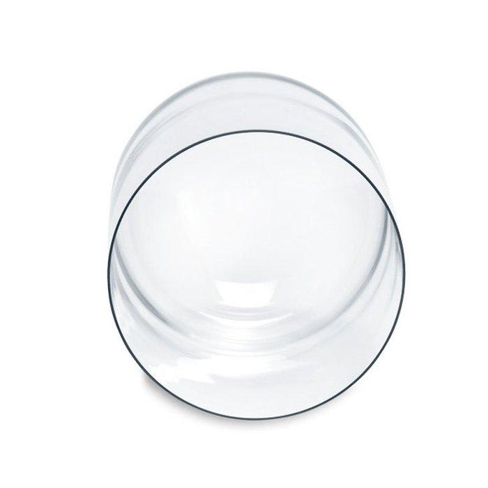 黑底圓型永生花玻璃罩30x50cm☆ VITO zakka ☆黑色木托底座 乾燥花玻璃罩 蛋糕罩