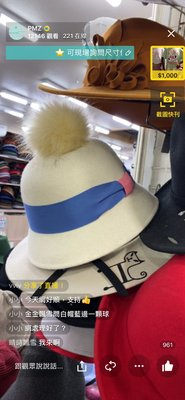 韓國 手工 羊毛帽 羊毛氈 特殊造型 鐘形帽