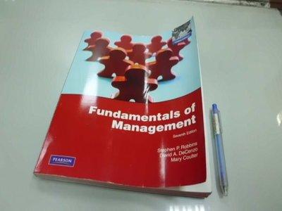 6980銤:#B1-4☆2011年『Fundamentals of Management 7/e』《Stephen P.》ISBN:0135095182