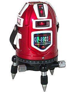 ㊣宇慶S舖㊣GPI台灣製GP-8903H GP-8902H 4垂直4水平 電子式 雷射水平儀 全自動墨線雷射儀 2倍光