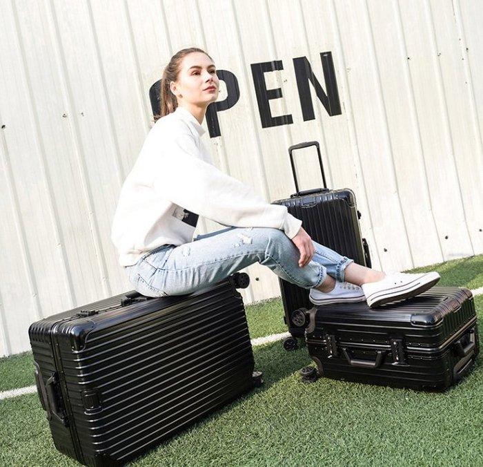30吋運動版行李箱 大容量 鋁框 拉桿箱 萬向輪 磨砂面加厚旅行箱 (不送小贈品, 價格直接優惠)