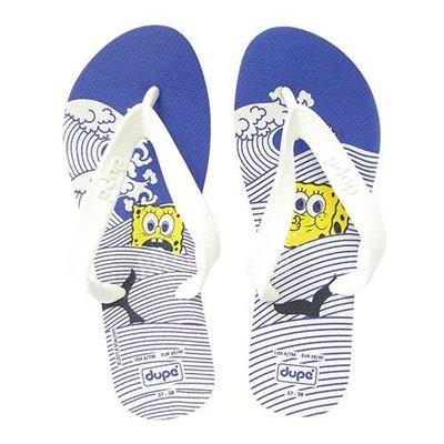 dupe' 海綿寶寶系列 巴西橡膠人字拖/夾腳拖鞋