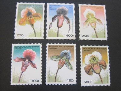 【雲品】幾內亞Guinea 1997 Sc 1375-80 set MNH 庫號#77183