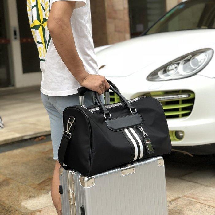 奇奇店-行李袋牛津布韓版短途旅行包大容量女小行李包出差手提包男健身包#時尚經典 #耐磨 #抗皺 #防水 #男女通用