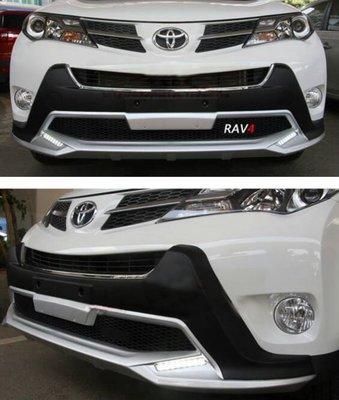 【車王小舖】豐田 Toyota 2014年 RAV4前保桿+RAV4後保桿 RAV4運動款前後保桿 運動款 不帶日行燈