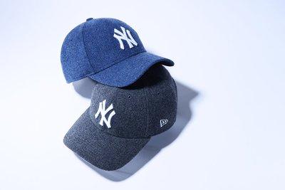 【Easy GO 韓國潮牌代購】NEW ERA x MLB NY 2018秋冬新款刷毛棒球帽/鴨舌帽