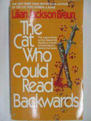 【書寶二手書T1/原文小說_B65】The Cat Who Could Read Backwards
