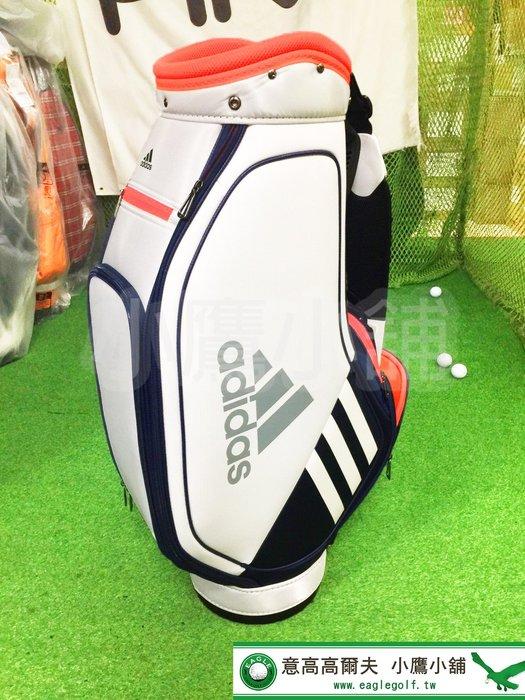 [小鷹小舖] Adidas Golf BAG FM5533 阿迪達斯 高爾夫 球桿袋 桿袋 9.5型47英吋對應 5分隔