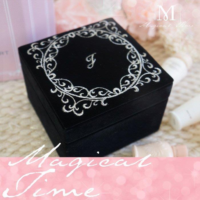 【∮魔法時光∮】JILL STUART 黑色絲絨珠寶盒/飾品盒/收納盒/收藏盒 2012璀璨巨獻