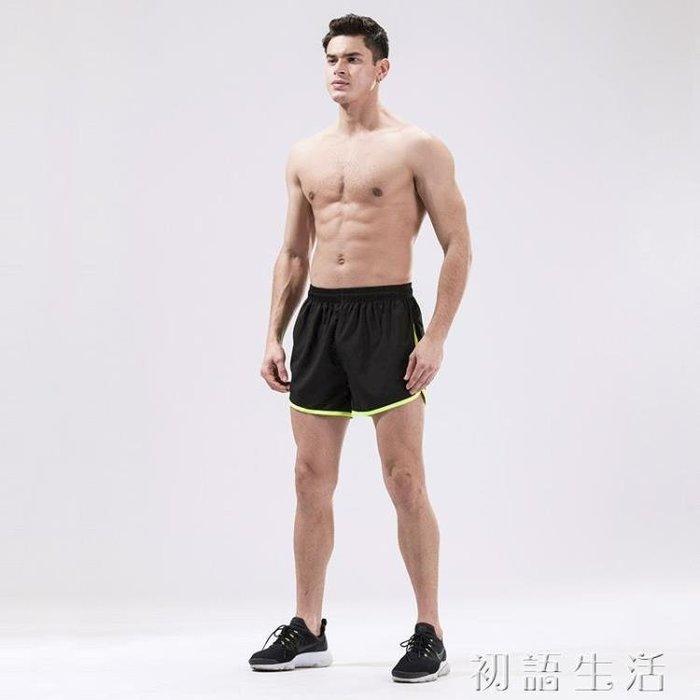 短褲運動短褲男夏速干透氣三分褲馬拉松健身短褲大碼寬鬆跑步3分褲CYSH19094