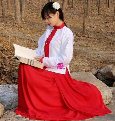 漢服女裝 立領齊腰襦裙 春秋日常款 新品特價