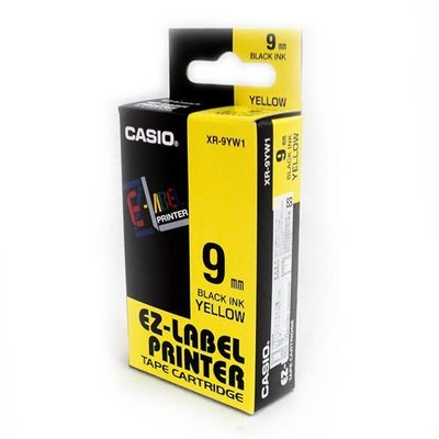 CASIO原廠標籤帶 9mm色帶(單捲價) 適用: KL-170 / KL-170plus / KL-G2TC