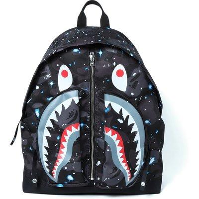 ☆AirRoom☆【現貨】 APE BAPE SPACE CAMO SHARK DAY PACK 後背包