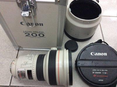 [保固一年] [高雄明豐] Canon EF 200mm F1.8 L UM鏡 傳奇EF鏡 L鏡 隨便賣