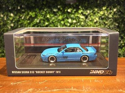 1/64 Inno64 Nissan Silvia S13 PANDEM Bunny IN64S13V1LBL【MGM】