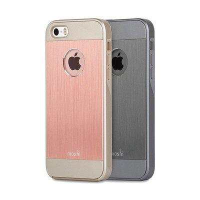公司貨 Moshi iGlaze Armour for iPhone SE/iPhone5/5S  鋁製背殼 保護殼
