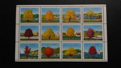 加拿大楓樹郵票