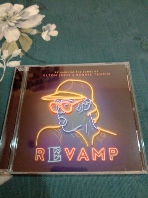 ELTON JOHN 艾爾頓強  Revamp 翻玩金選cd 99.99新  含側標
