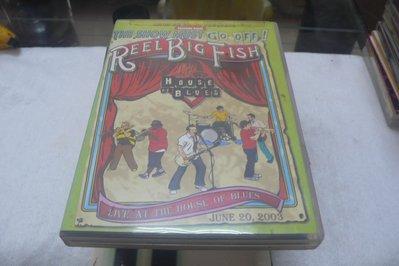 白色小館A7-----REEL BIG FISH  UNPLUGGED GREEN DAY -單片6000元