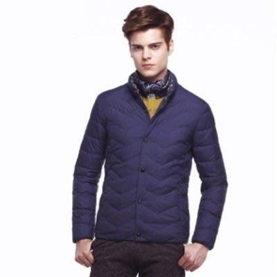 羽絨外套 立領夾克-時尚休閒個性保暖男羽絨衣3色73ka85[獨家進口][米蘭精品]
