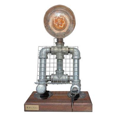 【曙muse】站姿鑰匙開關機器人桌燈 質感桌燈 造型檯燈 Loft 工業風 商店居家必選款 咖啡廳 民宿 餐廳 住家