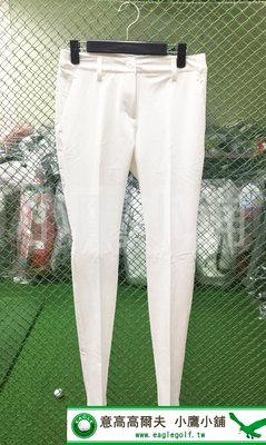 [小鷹小舖] adidas Golf 4WAY STRETCHPNT 阿迪達斯 高爾夫 女仕 長褲 彈性 防曬 白色
