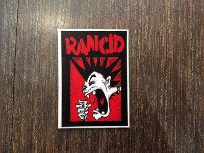 【小間搖滾】Rancid ☆Punk Rock 搖滾 進口防水貼紙