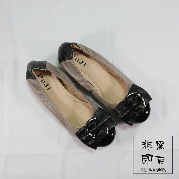 【非黑即白】MIT專櫃真皮內斂女孩平底娃娃鞋 休閒鞋 內增高 4264726