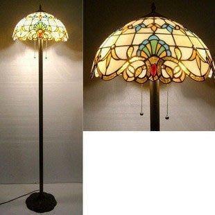 【優上精品】帝凡尼 歐式客廳落地燈 高檔臥室燈 古典巴洛克風格 工藝裝飾燈具(Z-P3196)