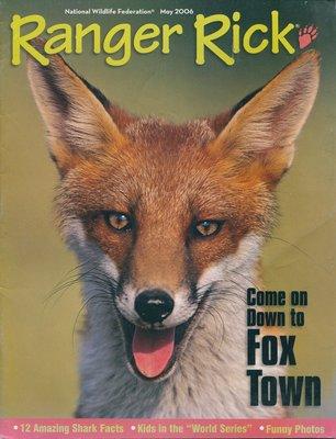 美國自然科學雜誌(青少年) Ranger Rick: Come down to Fox Town 狐狸
