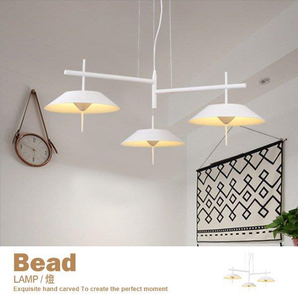 燈 鐵藝吊燈 簡約 北歐 臥室 客廳 餐廳 床頭 吧台 創意個性店面燈具【LA3】品歐家具