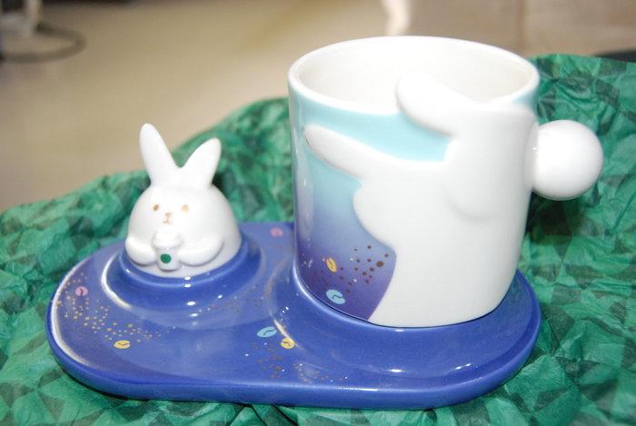 全新 超可愛星巴克兔子造型杯組 絕版限量款 starbucks