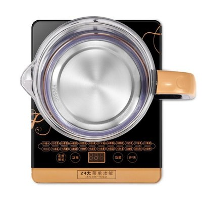 養生壺全自動多功能加厚玻璃花茶壺黑茶壺電熱燒水壺煮茶器煲 220VCENX25650