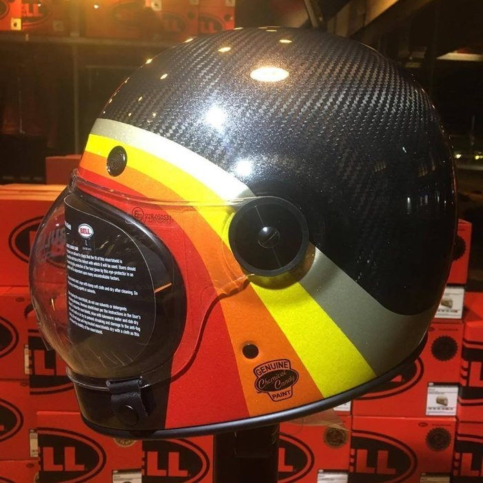 (I LOVE樂多)美國BELL CANDY BLACK 碳纖維 全罩安全帽 樂高帽 全車種風格搭配