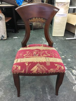 非凡二手家具 古典 實木花布餐椅*洽談椅*麻將椅*辦公椅*接待椅*電腦椅*化妝椅*房間椅*沙發椅*咖啡椅 台中市