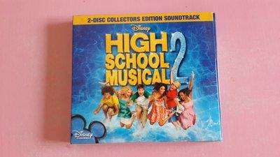 【鳳姐嚴選二手唱片】HIGH SCHOOL MUSICAL 2    CD+VCD 無歌詞