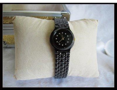 二手舖~ NO.24 高級時尚JYESHYH環鑽金屬女用錶 原價3230元優惠價1支只賣800元 庫存全新品