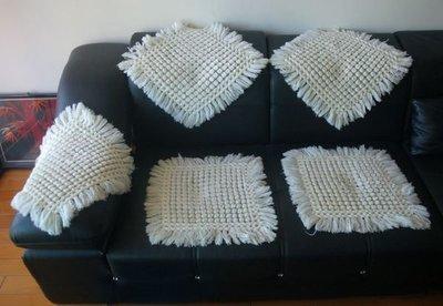 早期手織沙發巾,每張 800元,現貨5個。