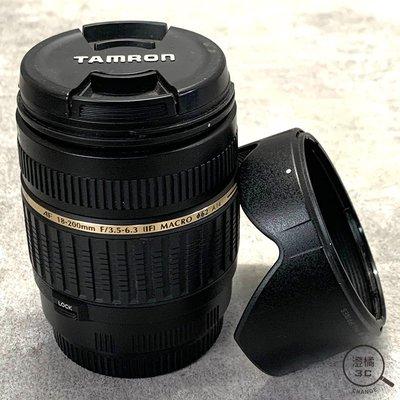 『澄橘』TAMRON 18-200mm F3.5-6.3 DiII 瑕疵品  單鏡頭 for canon A43154