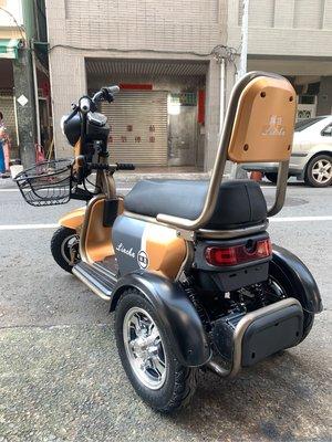 時尚電動三輪車