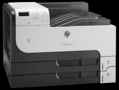 HP LaserJet Enterprise 700 M712dn A3 高容量黑白雷射印表機 台中市