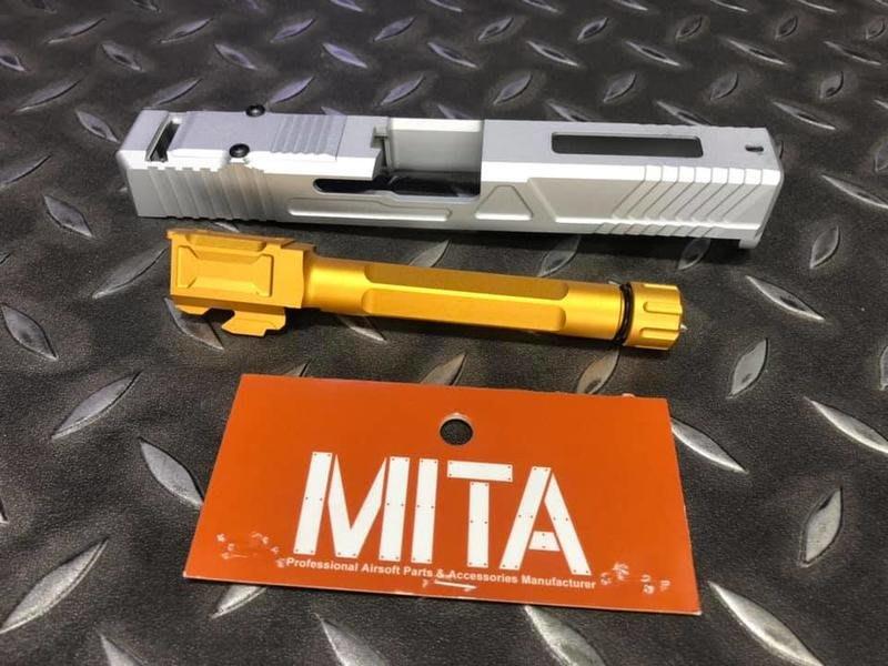 MITA VFC GLOCK G17 RMR版本 滑套組 銀色